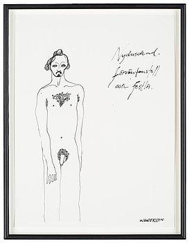 """12. Jesper Waldersten, """"Nyduschad"""" (Fresh from the shower)."""