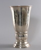 Vas, silver, c g hallberg, stockholm 1921.