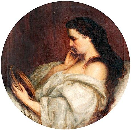 Dimitri palatko, portrait of a woman.