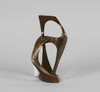 Zan, jack. skulptur, brons, sign. gjutarstämpel: a pettersson fun.