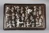 Bricka, lack och pärlemor. kina 1800-tal.