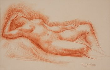 292. ROBERT WLERIC, Nude.