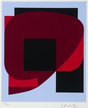 666. Victor Vasarely, KOMPOSITION.