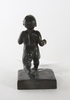 Ohlson, alfred, skulptur, brons, sign