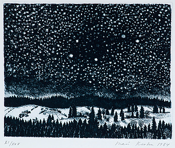 "600. INARI KROHN, ""WINTER NIGHT""."