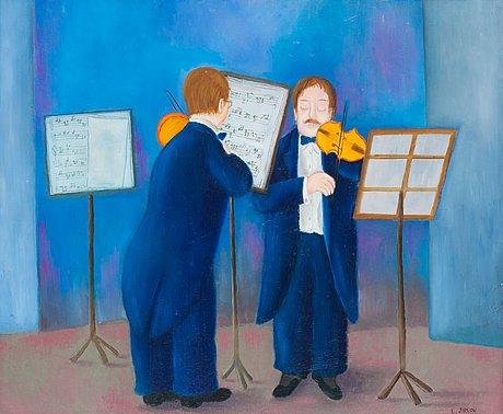 "Lennart jirlow, ""violinister"" (violinist)."