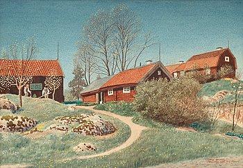 "9. Oskar Bergman, ""Neglinge gård""."