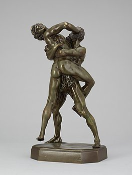 "367. CARLO MADERNO, ""Hercules och Antaeus""."