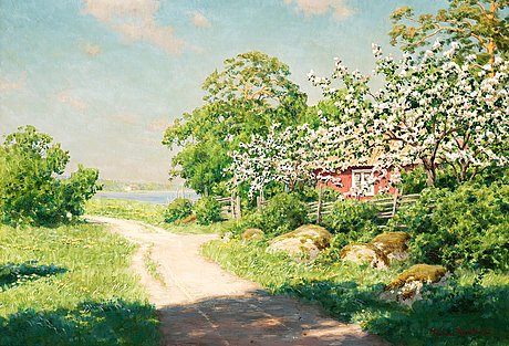 Johan krouthén, country road.
