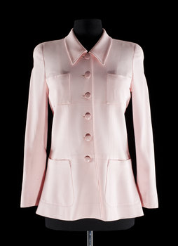 1208. A pink jacket by Chanel.