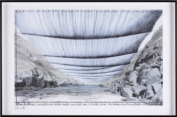 CHRISTO, offsettryck, 2 st, sign.