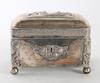 Skrin, silver, fantasistämplar, sent 1800-tal.