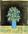 LOUIS CANE, Still life with flowers. Signed...