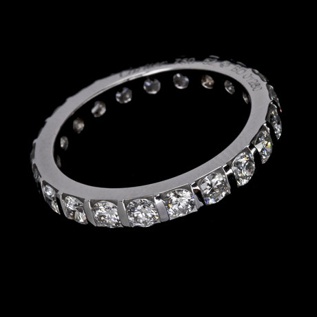 Ring, cartier, eternityring, brilliant cut diamonds, tot. app. 2.10 cts.
