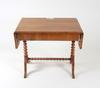 Klaffbord, senempire, 1800-talets mitt.