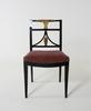 Stol, provinsarbete, 1800-tal.