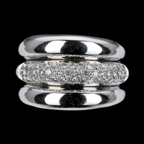 Ring, briljantslipade diamanter, 0.66 ct. h. strömdahl.