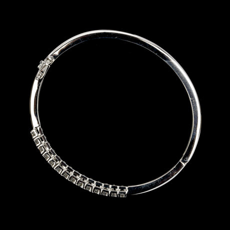 Bangle, brilliant cut diamonds, tot. 0.72 cts.