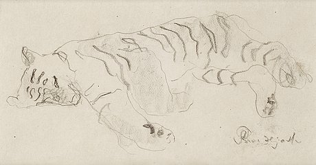 Bror hjorth, sleeping tiger.