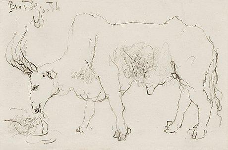 Bror hjorth, bull.