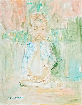 88. Anitra Lucander, A LITTLE BOY.