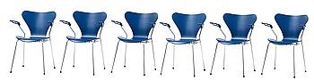343. Arne Jacobsen, STOLAR, 6 ST.