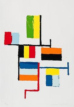 "90. Ernst Mether-Borgström, ""FLAGGING""."