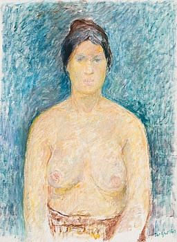 34. Torger Enckell, PORTRAIT OF A WOMAN.