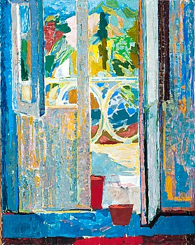 2. Tove Jansson, VIEW TO THE BALCONY.