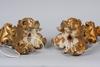 Bordsarmaturer, ett par, barockstil, 1800/1900-tal.