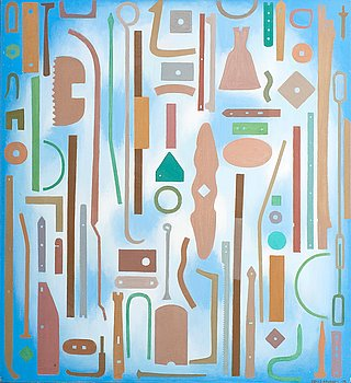 """92. Veikko Roikonen, """"COMPOSITION WITH OBJECTS""""."""