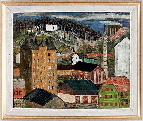 Lars boëthius, motif from stockholm.
