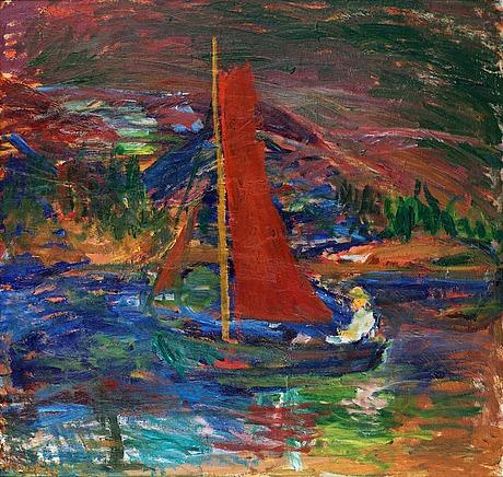 "Ivan ivarson, ""skymning"" (twilight)."