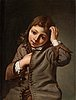 Michael sweerts, young boy scratching his head.