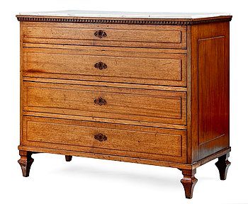6. A CHEST OF DRAWERS.