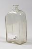 BrÄnnvinsflaska, glas, 1800-tal.