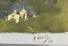 Åslund, acke, akvarell. signerad och daterad 01.