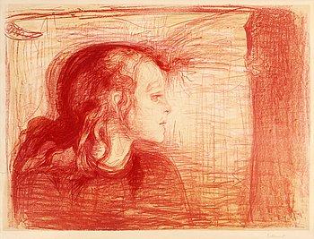 """156. Edvard Munch, """"The sick child I"""" (Det syke barn I)."""