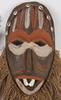 Masker, 2 st, afrika.