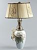 Bordslampa, royal copenhagen, 1900-talets första hälft.