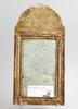 Spegel, gustaviansk, provinstillverkad, sent 1700-tal.