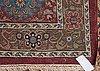 Semi-antique tabriz. 666,5 x 454 cm.