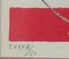 Svanberg, max walter, färglitografi, sign o otydligt numr cxxxii/cc.