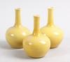 Vaser, 3 st, porslin, kina, 1900-talets första hälft.