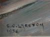 Larsson, carl oscar, olja på pannå, sign o dat 1956.
