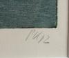 Kirkeby, per, färglitografi, sign o otydligt dat 82, numr 17/50.