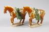 Figuriner, 2 st snarlika, porslin, 1900 tal, kina