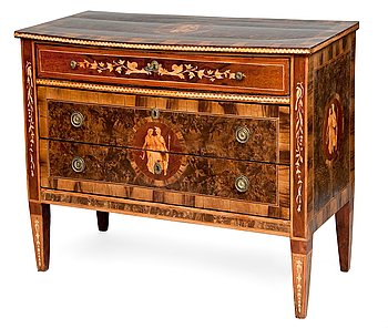 14. A CHEST OF DRAWERS.