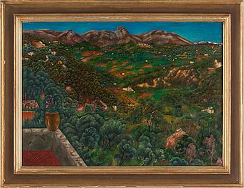 "14. Sven Westman, ""Franskt landskap, St. Paul. AM."" (Frensh landscape, St Paul AM)."