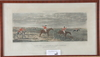 """Litografiska tryck, 4+2+1, england. bok """"hästen i sverige"""" carl trägårdh medföljer."""
